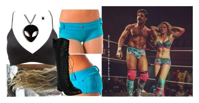 """""""Tagging with Joey Ryan and Candice LeRae!!!!"""" by carmellahowyoudoin ❤ liked on Polyvore featuring Charlotte Russe, divas, wrestling and divasgear"""