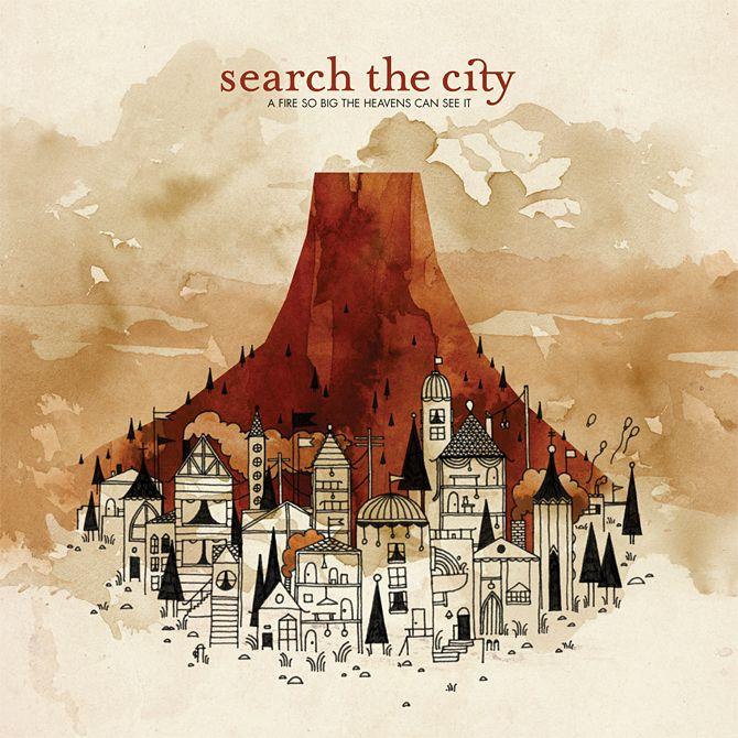 Search The City: Music, Search, Cities, Album, Art, Big, Fire, City, Heavens