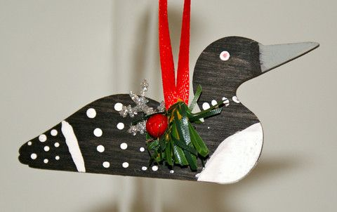 Loon Ornament