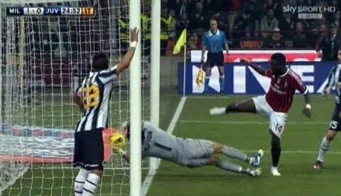 Milan 1 Juventus 1