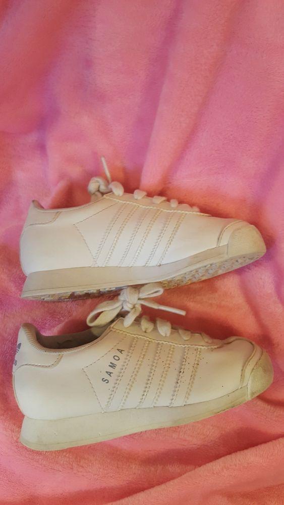 separation shoes d0c32 3eff5 ADIDAS ORIGINALS SAMOA ALL WHITE LEATHER TODDLER BABY Sz 11k Shoes G99721   fashion  clothing  shoes  accessories  babytoddlerclothing  babyshoes  (ebay link)