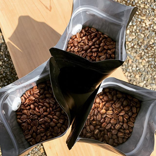 Three Pounds Of Coffee Love More On The Way Local Pick Up And Drop Off Roasting Now Smallbatchroasters Coffeelover Coffeeroastery Valentefamilycoffe In 2020