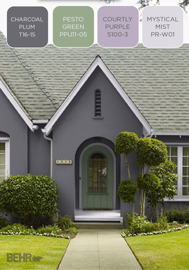 104 best images about behr 2016 color trends on pinterest - Popular exterior paint colors 2014 ...