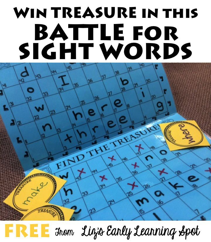 Kids will love this game! Great for sight words & number sense from Liz's Early Learning Spot