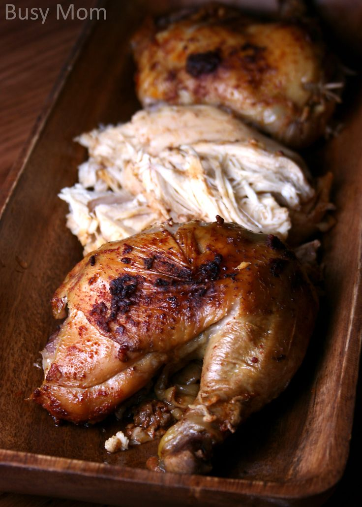 Quot Rotisserie Quot Chicken In The Crockpot Buy Those Whole Chickens When They Are On Sale Food