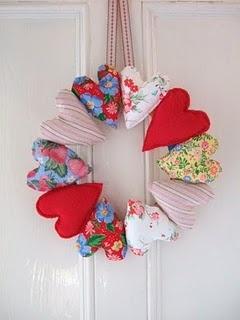 Guirlandas de Natal corações