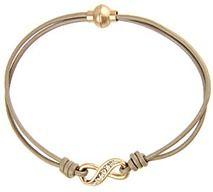 Saachi Crystal Infinity Bracelet.