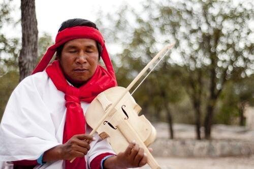 Tarahumara en Chihuaha. México.