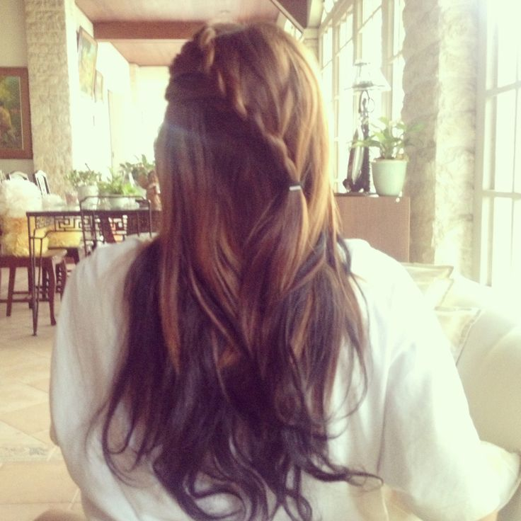 My reverse ombre