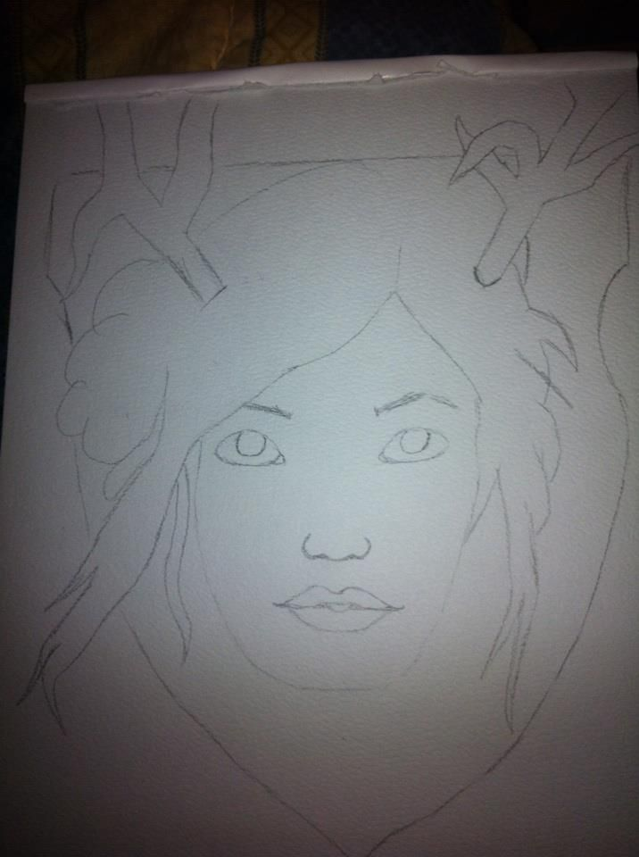 girl with horns