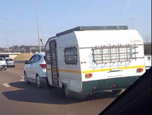 Net in Suid Afrika!