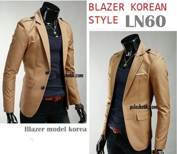 BLAZER KERJA LN60 Koleksi blazer pria http://pulaubatik.com/category/jas-blazer-pria/
