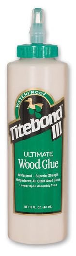 Titebond Titebond III Ultimate Wood Glue 473ml - adhesives and tapes - wood glue - Titebond III Ultimate Wood Glue 473ml - Timber, Tool and Hardware Merchants established in 1933