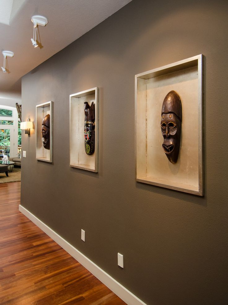 West Linn Global and Contemporary Blend - eclectic - entry - portland - Pangaea Interior Design, Portland, OR