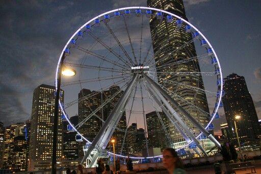 Ferries wheel HK