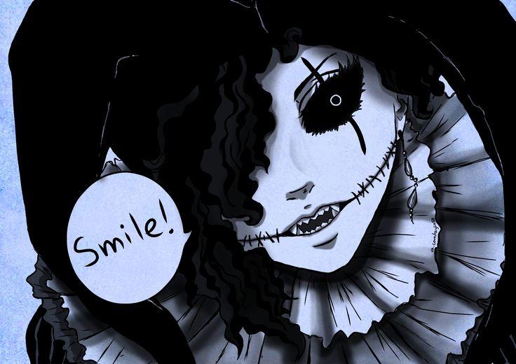 черно-белая улыбка