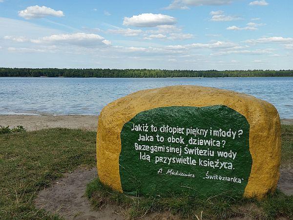 Białoruś, jezioro Świteź