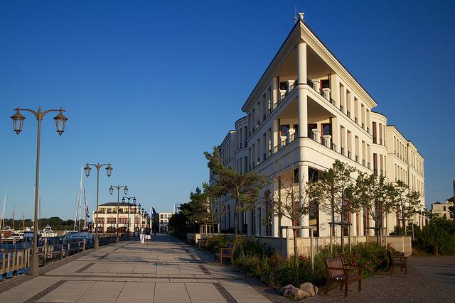Rostock – Yachthafen Hohe Düne by franzwegener, via Flickr