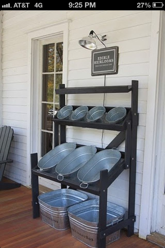 Love this idea for a backyard bbq/party