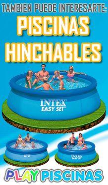 Accede a ver todas las #piscinashinchables en nuestra tienda online. #piscinas #intex #desmontables http://www.playpiscinas.com/piscinas-hinchables-17-c.asp