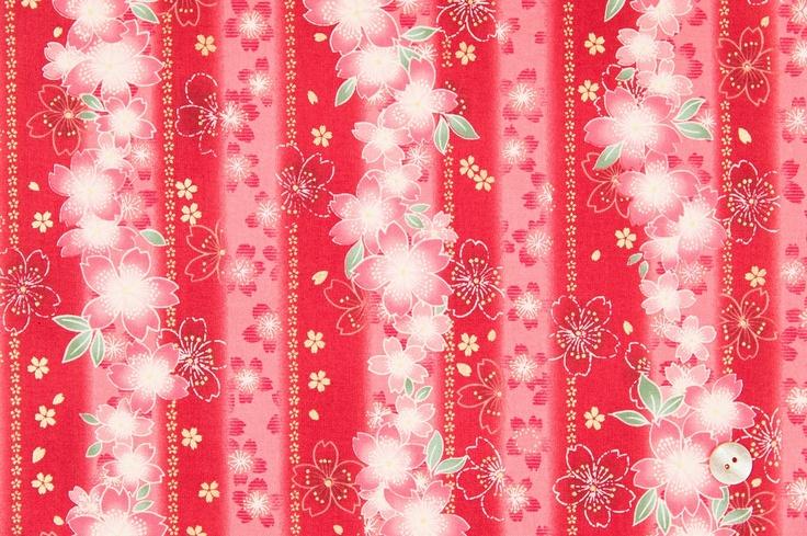 Quilt Gate fabrics. Hyakka Ryoran - Hime HR3930-14C