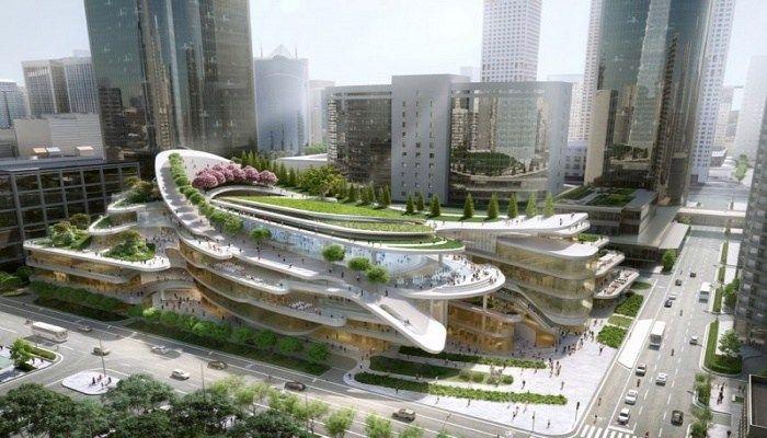 Αυτό είναι το πιο εντυπωσιακό κτήριο στον κόσμο! Διαθέτει τεχνητή χιονισμένη πλαγιά για σκι!  Την επόμενη φορά που θα πάτε στο Πεκίνο να πάρετε μαζί και τα σκι σας! Η συνεχώς εξελισσόμενη πρωτεύουσα της Κίνας σύντομα θα φιλοξενήσει ένα εκπληκτικό νέο εμπορικό κέν