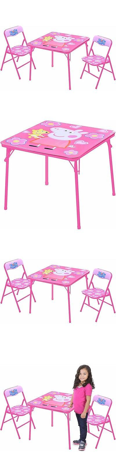 Sofas and Armchairs 134648: Peppa Pig Table And Chairs Set -> BUY IT NOW ONLY: $41.95 on eBay!