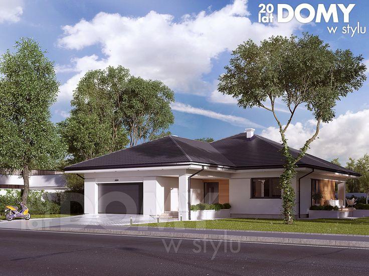 Projekt domu Ariel 4 - wizualizacja frontowa