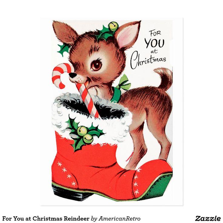For You at Christmas Reindeer