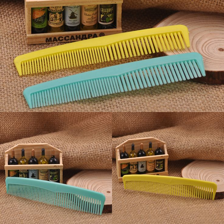2 Pcs/lot Hair Combs Plastic Hairdressing Combs Hair Comb Hairdresser Hair Styling Salon Comb M02958