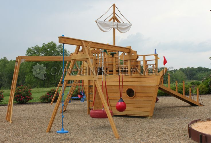 Pirate ship playhouse for sale woodworking projects plans for Boat playhouse plans