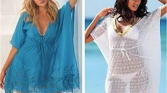 Как быстро сшить пляжное платье тунику - YouTube