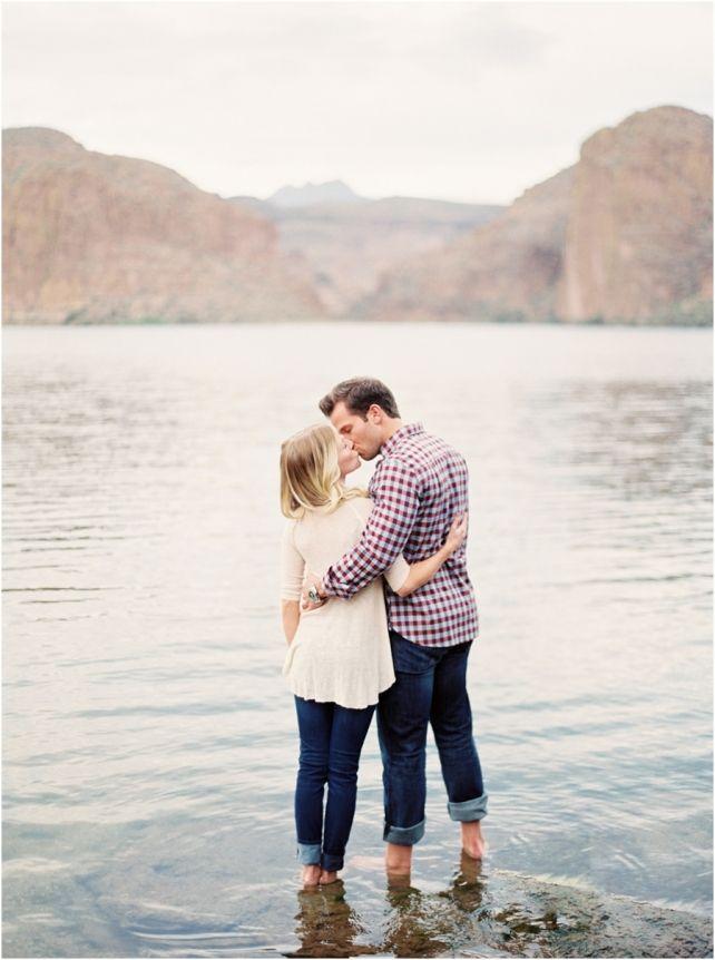 canyon lake engagement photos