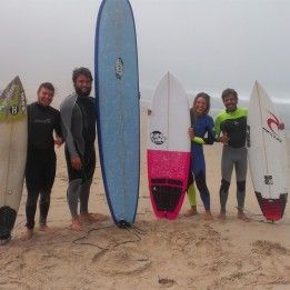 If are coming to Portugal to surf and it's your first time then there are various choices available as for surf spots dreamseasurfcamp.com.