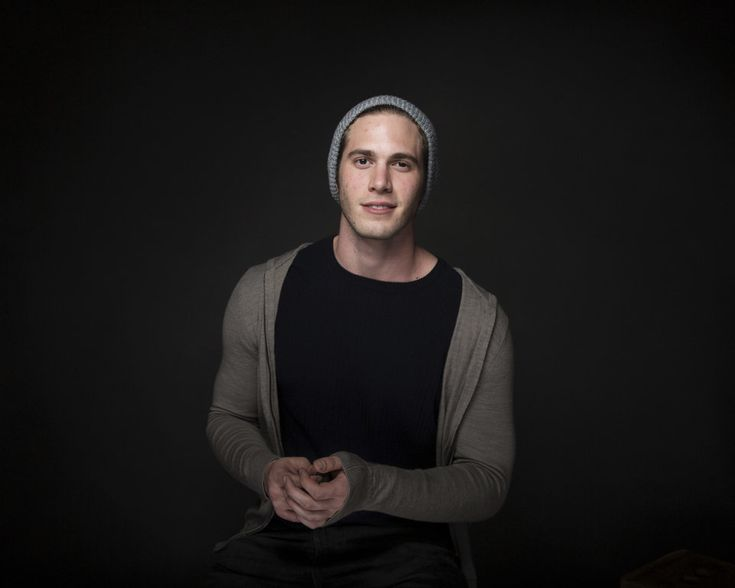 Blake Jenner poses for portraits to promote the film Sidney Hall at the Music Lodge during the Sundance Film Festival on January 23, 2017