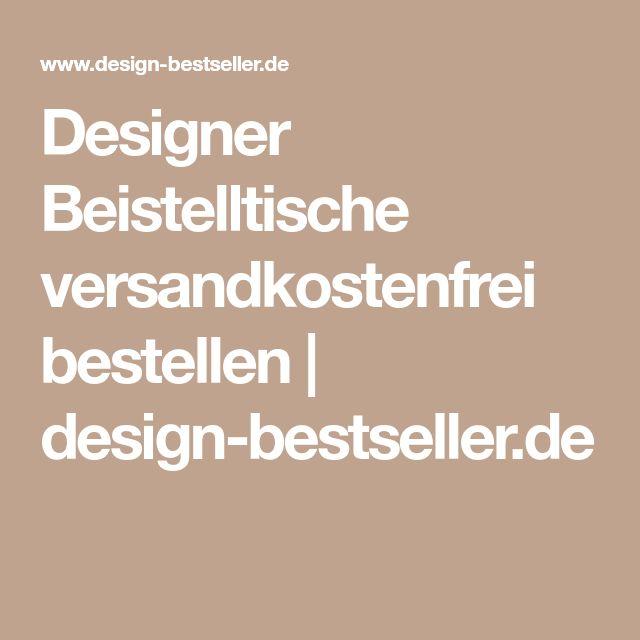 Designer Beistelltische versandkostenfrei bestellen | design-bestseller.de