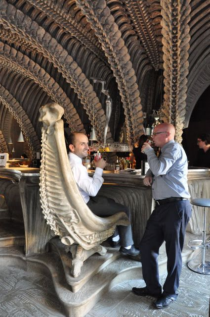 Awesome The Museum HR Giger Bar Located In Chateau St. Germain, Gruyers,  Switzerland Which Part 20