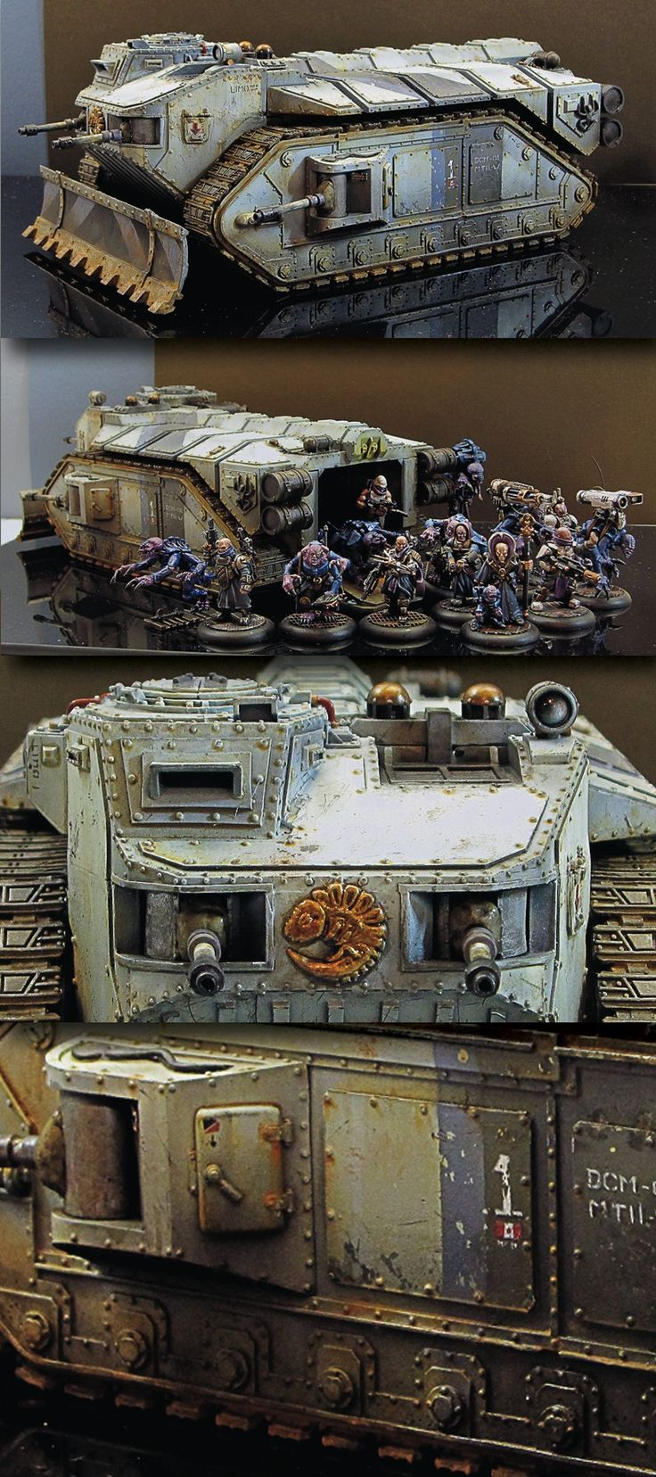 CoolMiniOrNot - Crassus Assault Tranport/ Genestealer Limo by MajorTom11
