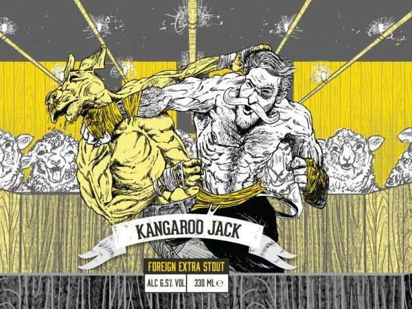 Yellowbelly Beer - Kangaroo Jack Foreign Extra Stout 330ml | thebeerclub.ie