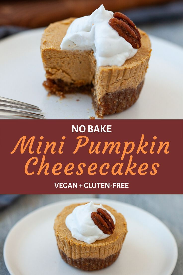 No Bake Pumpkin Cheesecake Vegan Gluten Free Recipe In 2020 No Bake Pumpkin Cheesecake Pumpkin Cheesecake Recipes Pumpkin Cheesecake