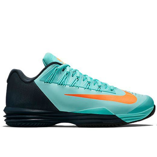 huge selection of 77fe4 ce943 ... LUNAR BALLISTEC 1.5 NADAL Men`s Lunar Ballistec 1.5 Tennis Shoes Ocean  Fog and Obsidian Rafael Nadals Nike shoes for US Open 2016 (day session)  Rafa ...