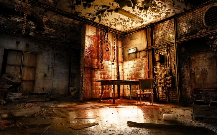 Torture Room Horror Macabre Skulls Etc Room