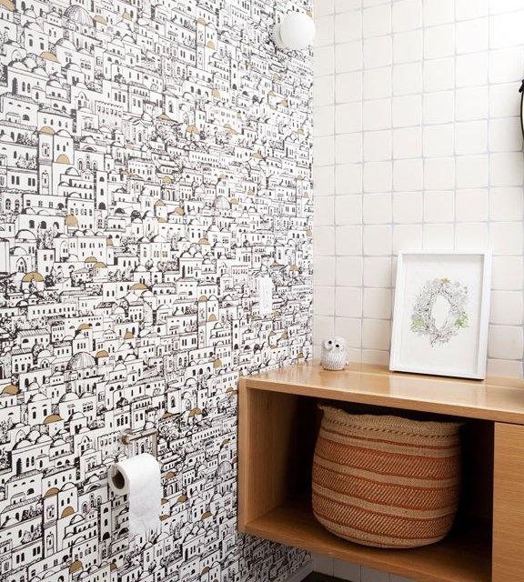 Very cool Mediterranean wall paper ?