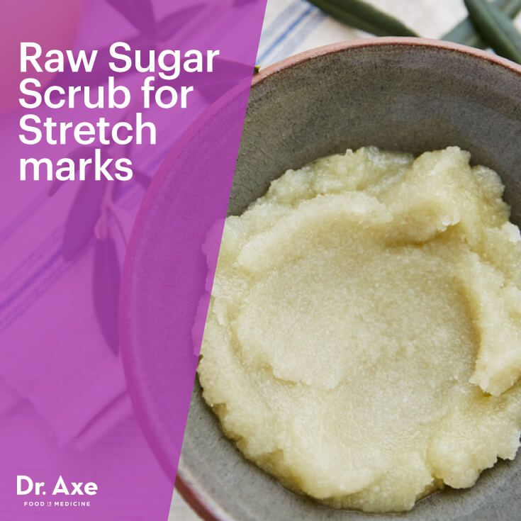 Stretch mark scrub - Dr. Axe http://www.draxe.com #health #holistic #natural