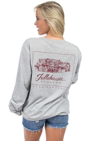 Florida State Stadium Tee - Long Sleeve – Lauren James Co.