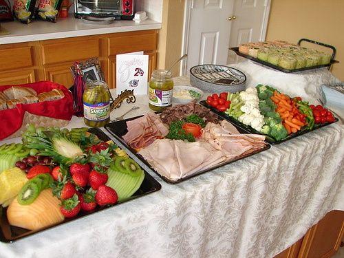 graduation food | Food at Graduation | cute party ideas