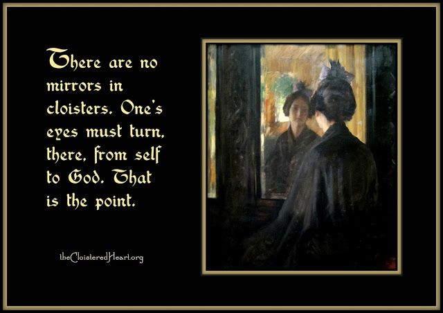 The Cloistered Heart: No Mirrors
