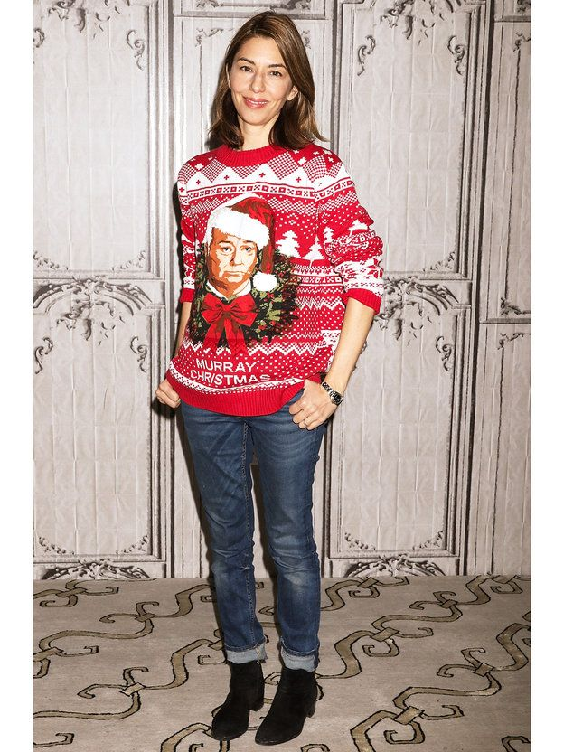 Ugly Christmas Sweaters Sofia Coppola