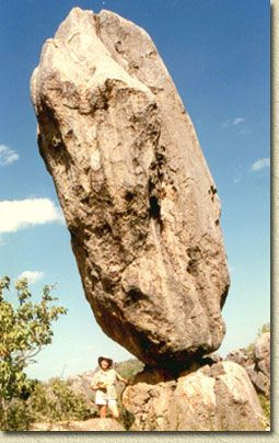 Long term weathering of the spectacular fossil rich limestone bluffs of Chillagoe has created unusual rock towers