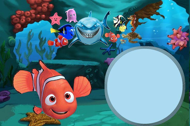 Ideas y material gratis para fiestas y celebraciones Oh My Fiesta!: Imprimibles de Nemo 2.